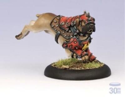 Privateer Press Khador War Dog Warcaster Attachment Model Kit