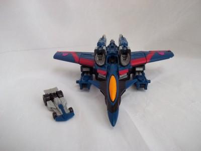 Transformers Thundercracker & mini con Zapmaster