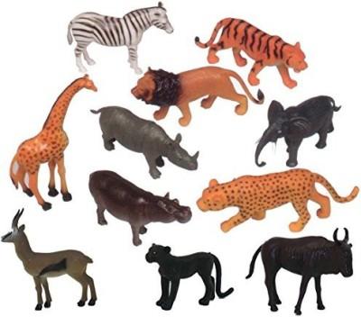 GET READY KIDS Wild Animals Playset