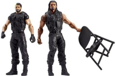 Mattel Wwe Battle Pack Series 24 Reigns And Rollins 2Pack