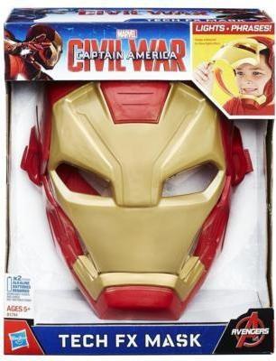Funskool Marvel Captain America: Civil War Iron Man Tech FX Mask
