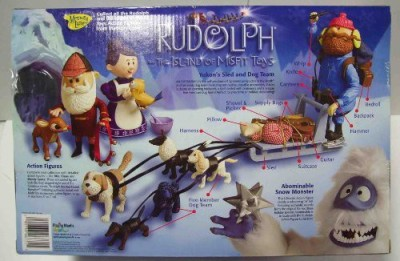 Memory Lane Rudolph And The Island Of Misfityukons Sled And Dog Team