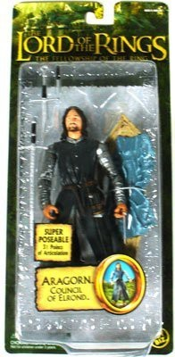 The Lord Of The Rings Epic Trilogy Collection Aragorn Council