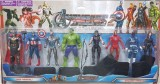 AS Avengers Action Figures of 8 Super He...