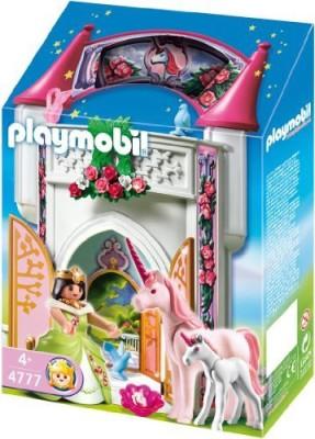 PLAYMOBILA Unicorn Take Along Castle Set