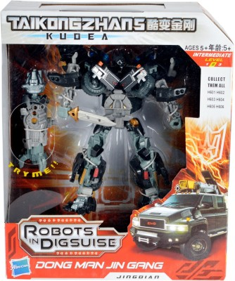 Tabu Converts Robot to Car