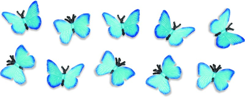 Safari Ltd Gl Minis Butterflies(Multicolor)