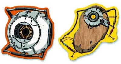 Crowded Coop A Portal Pack 2 Patches Thermocollants Space Core & Potados