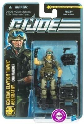 Hasbro Gi Joe Pursuit Of Cobra 3 3/4 Inch General Clayton Hawk