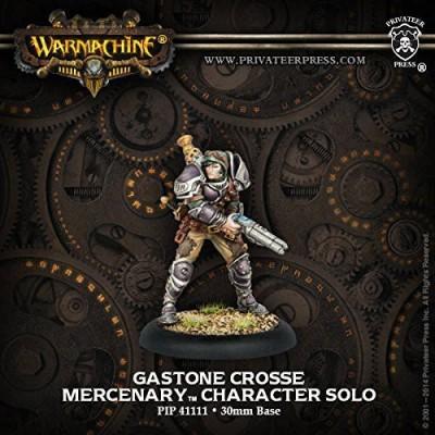 Privateer Press Privateer Press - Warmachine - Mercenary: Gastone Crosse Model Kit