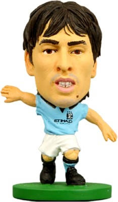 Soccerstarz Manchester City David Silva - Home Kit 2014 Figure