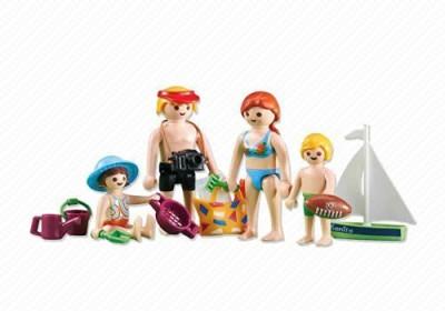 PLAYMOBIL 6345 Beach Family