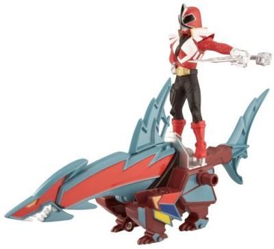 Power Rangers Power Ranger Zord Vehicle W/Sharkzord With Red Ranger
