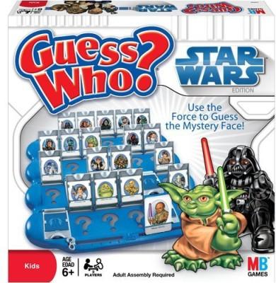 Milton Bradley Guess Who Star Wars