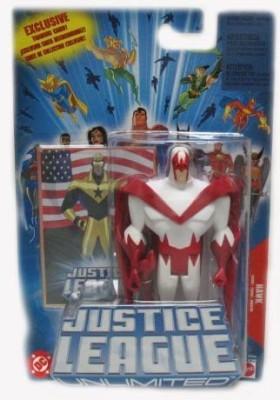 Justice League Unlimited Hawk