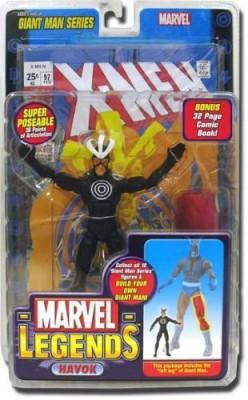 Marvel Legends Exclusive Series Havok With Giant Man Builder Piece
