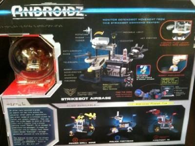 Androidz Strikebot Airbase Playset W/ Altitude Robot