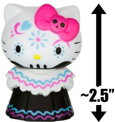 Hello Kitty Pink Bow Calavera