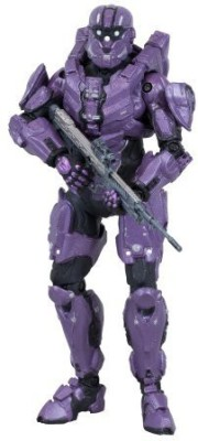 McFarlane Toys Halo 4 Series 2 Spartan Cio (Team Purple) With Dmr