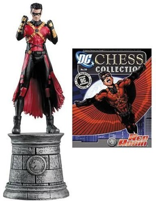 Eaglemoss Dc Chess & Collector Magazine 20 Red Robin White Knight
