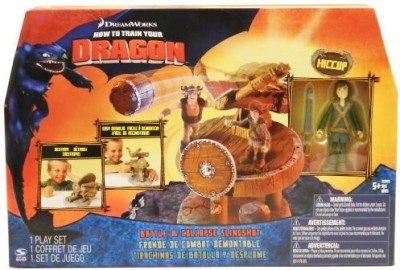 Dreamworks How To Train Your Dragon Movie Playset Battle & Collapse
