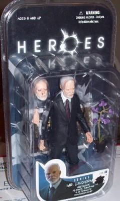 Mezco Heroes Mr Linderman (Purple Flower)