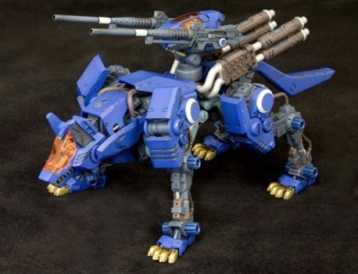 Kotobukiya Co., Ltd. Zoids Hmm007 Command Wolf Attack Custom 1/72 Scale