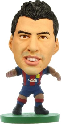 Soccerstarz Barcelona Luis Suarez - Home Kit (2015 version) /Figures