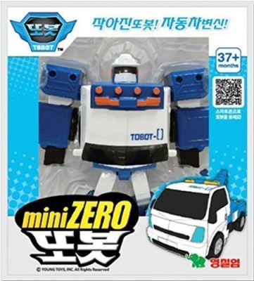 Tobot ZERO Mini Transformer Korean Animation Robot Character