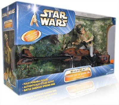 Hasbro Star Wars Princess Leia On Speeder Bike 12