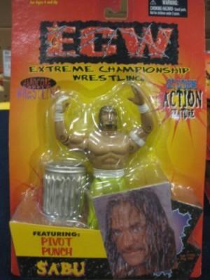 WCW Ecw Get Extreme Pivot Punch Sabu With Green Pants Hardcore