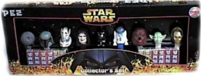 Star Wars Limited Edition Pez Collector,S Set With 9 Pez Dispensers