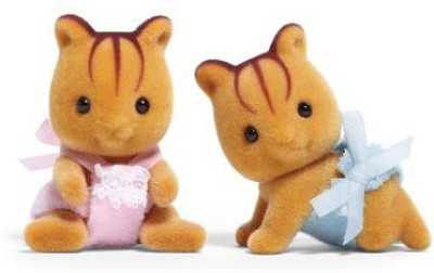 Calico Critters Furbanks Squirrel Twins