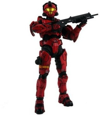 McFarlane Toys Halo 3 Series 2 Spartan Soldier Cqb Red