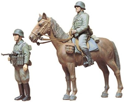 Tamiya 1/35 German Wehrmacht Mounted Infantry Set