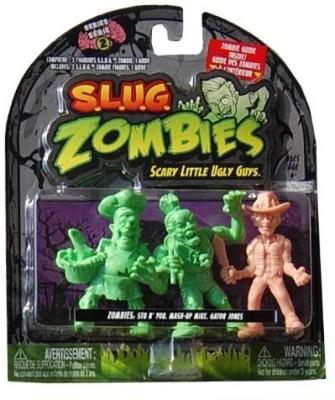 Jakks Pacific Slug Zombies3Pack (Series 2) Stu B, Youmashup Mikegator