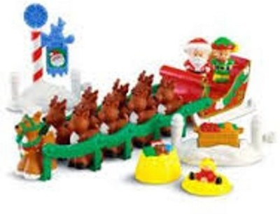 Little People Fisher Price Night Before Christmas Play Set