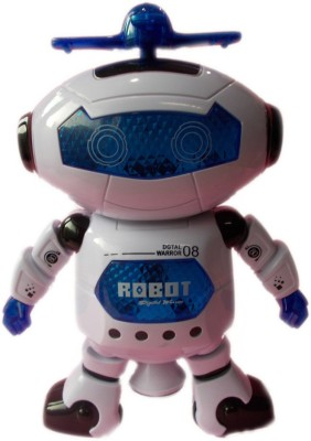 VK Agencies Dancing Robot(White)