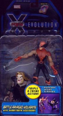 Toy Biz Battle Ravaged Wolverine From Xmen Evolution