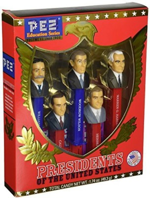 Pez Candy Presidents of the United States PEZ Candy Dispensers: Volume 6 - 1909-1933
