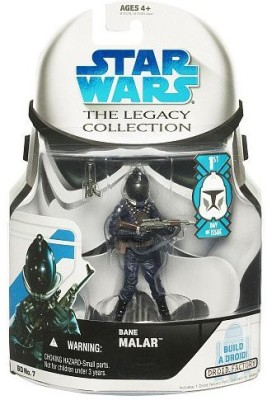 Star Wars Legacy Collection Wave 1 Bane Malar First Day Of Issue