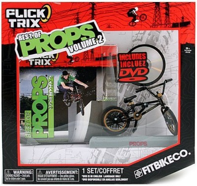 Spin Master Flick Trix Best Of Props Volume 2 [Fitbike Co]
