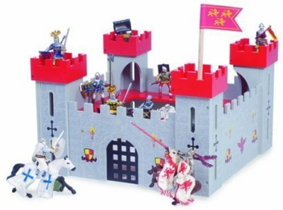 Le Toy Van Wooden Red My First Castle
