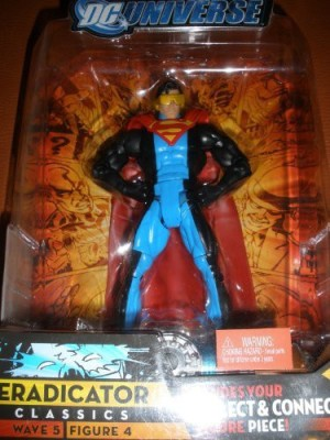 DC COMICS Universe Classics Series 5 Exclusive Action Figure Eradicator Build Metallo Piece!