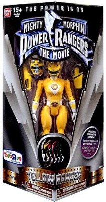Saban Mighty Morphin Power Rangers The Movie Yellow Ranger 5