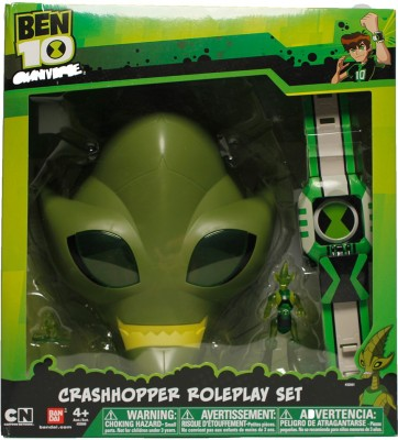 Ben 10 Crashhopper Roleplay Set(Multicolor)