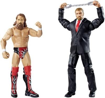 Mattel Wwe Battle Pack Series 32 Daniel Bryan Vs Triple H (2Pack)