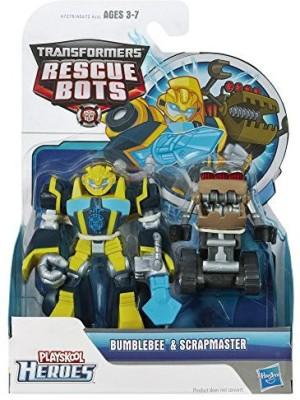 Playskool Heroes Transformers Rescue Bots Bumblebee And Scrapmaster