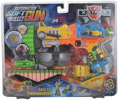 Rey Hawk X-Strike Super Transmutation Bullet Gun (Multi Color)