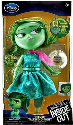 INsideOUT Disney / Pixar Disgust Talking Action Figure